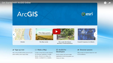 Get started with ArcGIS Online