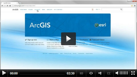 Using an ArcGIS Online Public Account